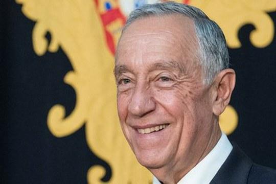 Il Sigillum Magnum al Presidente della Repubblica portoghese